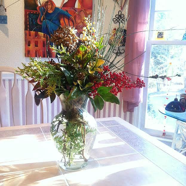 Andrew's winter bouquet