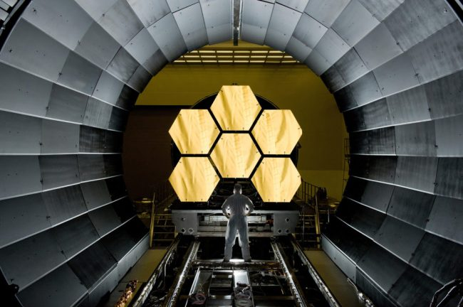 6 of the James Webb telescope's 18 mirrors