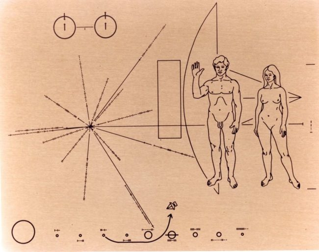 The Pioneer Plaque