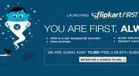 Flipkart Annonces Premium Subscription Service - Flipkart First