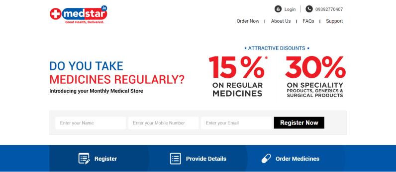 Medstar - Your Monthly Online Medical Store