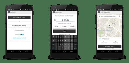 Uber Paytm Wallet Tie-Up