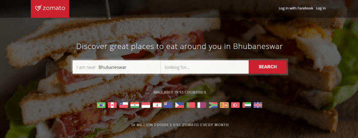 Zomato raised 60 million
