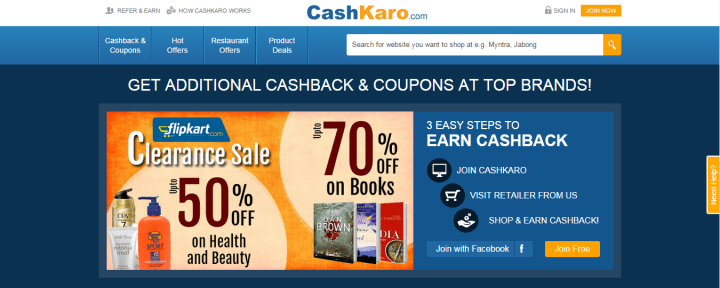 CashKaro.com - India's #1 Cashback Website