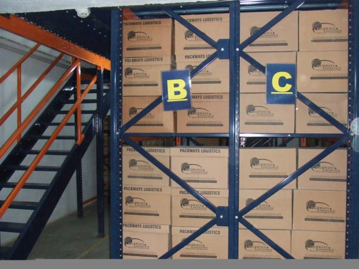 Packways Logistics Racking System