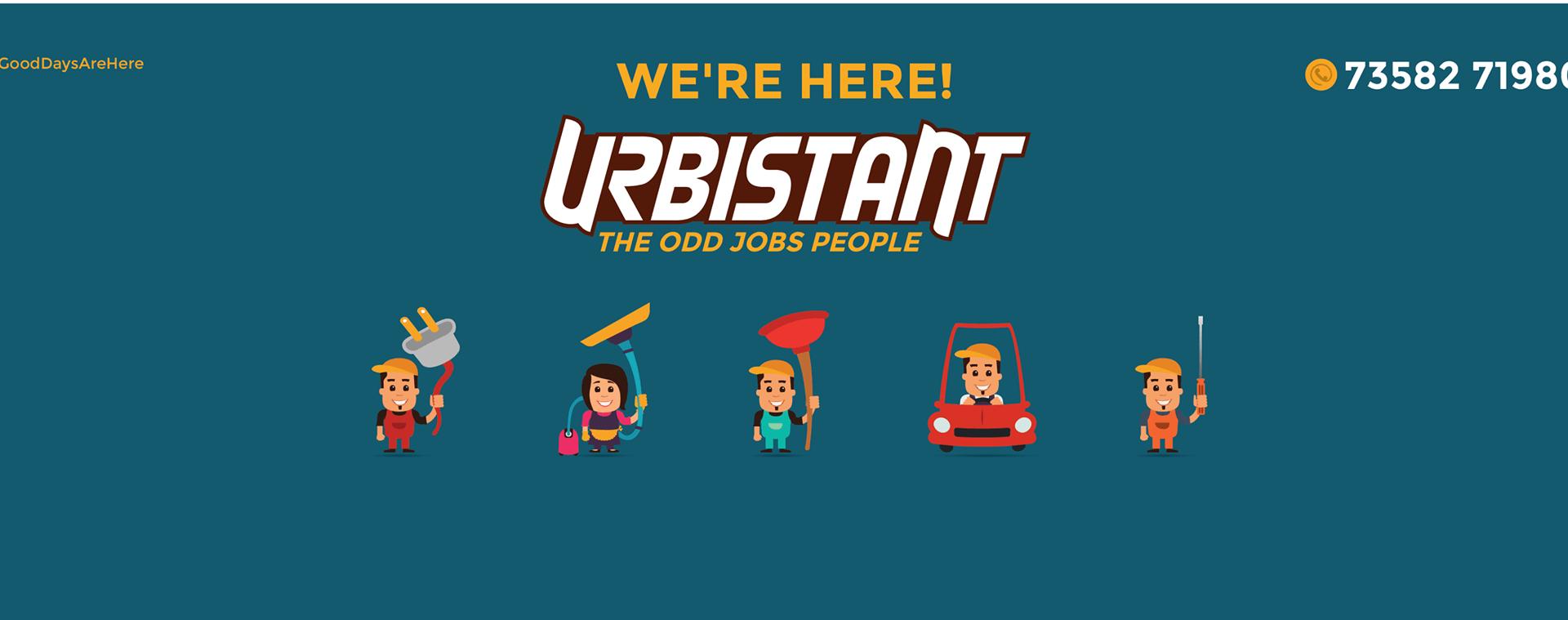 Urbistant - On Demand Job Portal