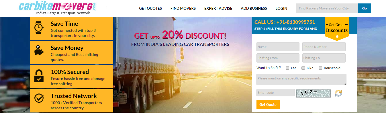 Packers Movers Aggregator