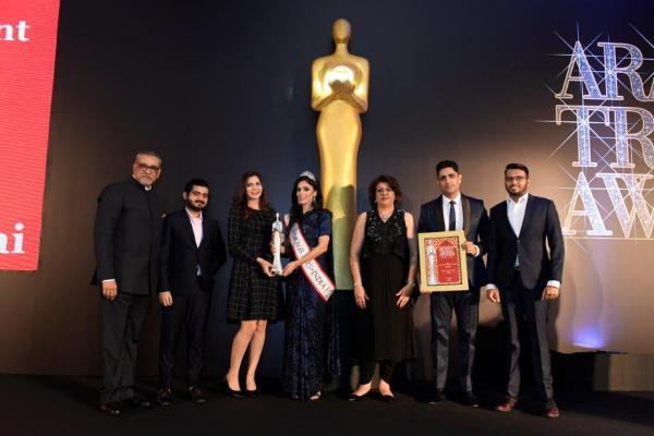 Rayna Tours at Arabian Travel Awards