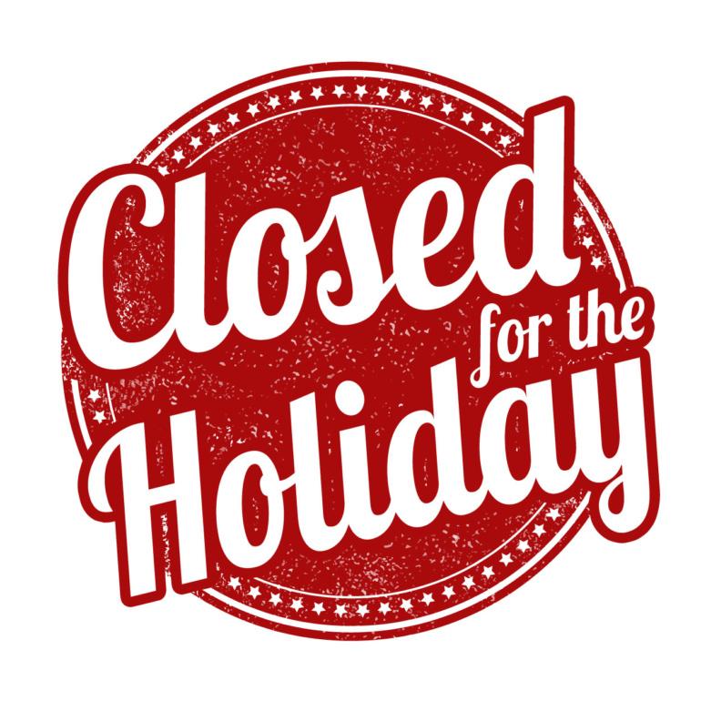 holiday closure  u2013 the state club