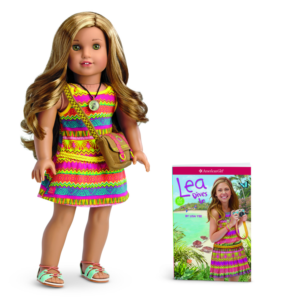 American Girl's Lea Clark marries fun with education and we are giving her away!