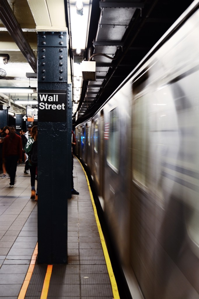 The subway system houses some of the most interesting art installations in New York city.