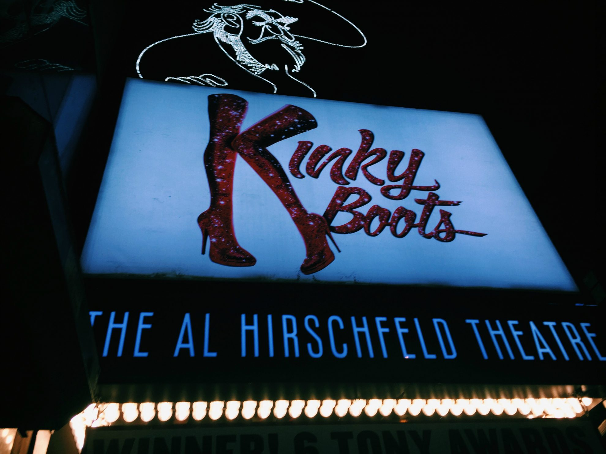 Father and Daughter Bonding at Kinky Boots on Broadway