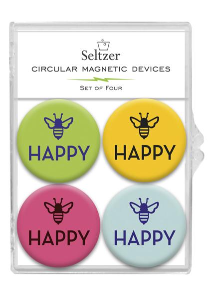 Bee Happy Magnets