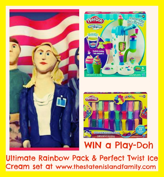WIN a Play-Doh Ultimate Rainbow Pack & Perfect Twist Ice Cream set at www.thestatenislandfamily.com
