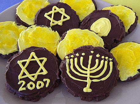 Recipe for Mini Dreidel Cakes