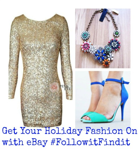 Get Your Holiday Fashion On with eBay #FollowitFindit