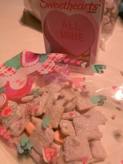 Valentine's Day Chex Party Mix Package