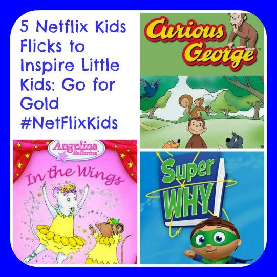 5 Netflix Kids Flicks to Inspire Little Kids: Go for Gold