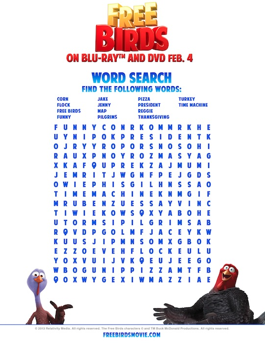 free-birds-word-search