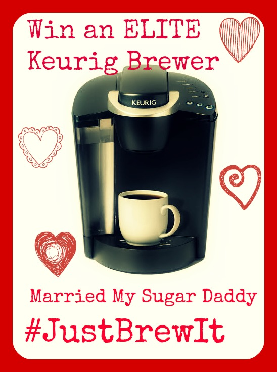 Win an ELITE Keurig Brewer from MarriedMySugarDaddy.com
