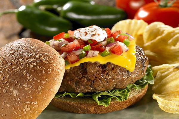 Recipes for Tex Mex Burgers