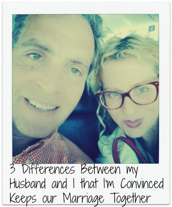 3 Differences Between my  Husband and I that I'm Convinced  Keeps our Marriage Together
