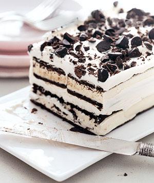 Recipe for an EASY Ice Cream Cake