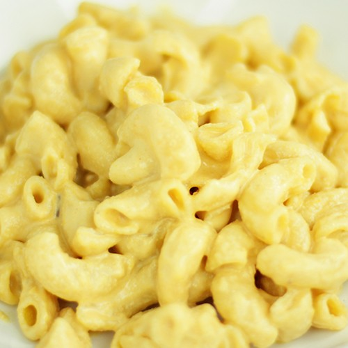 Believe it or not, mac 'n cheese can be loaded with raw protein and living nutrients, yet taste