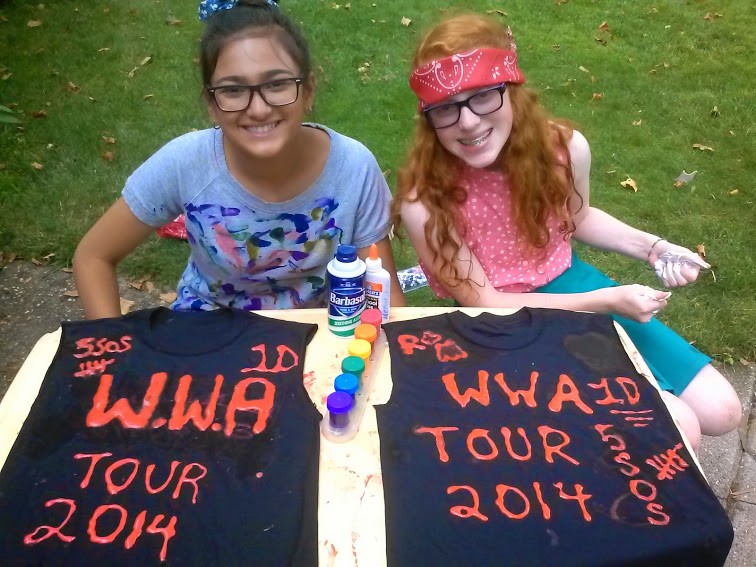 How to DIY Your Very Own One Direction Concert T-Shirt