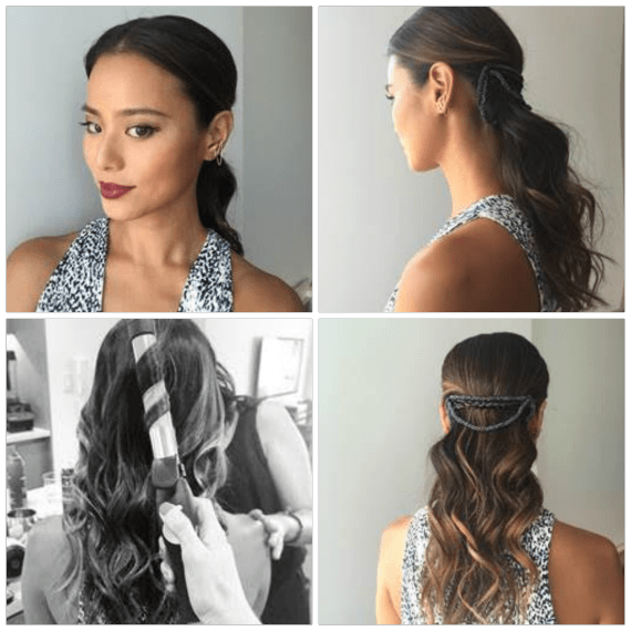 Get the Look: Jamie Chung's New York Fashion Week Inspired Hairstyle to Rock This Fall and Win a Sarah Potempa BEACHWAVER