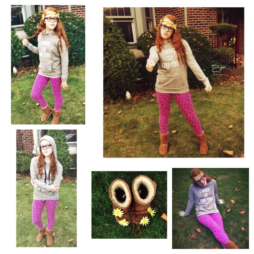 Outfit #3 Graphic Sweatshirt Fall Street Style Looks for Teens Styled By Madison