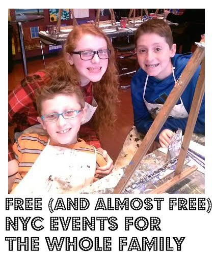 FREE (and almost Free) NYC Events for the Whole Family