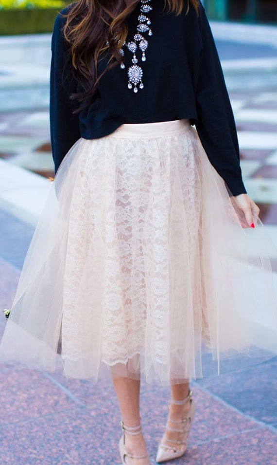 I need this Pink Tulle Skirt!