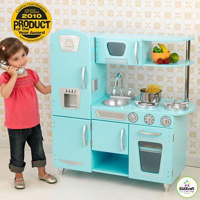 KidKraft Vintage Play Kitchen - Light Blue
