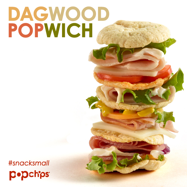 Recipe for the Dagwood popwich