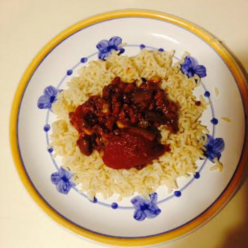 Help me #CreateAStir and Stir Up Dinner with Della Rice
