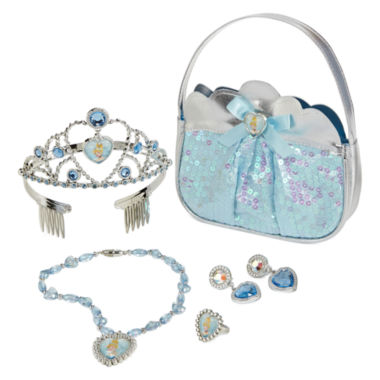 Win this Disney Cinderella 5-pc. Accessory Set  at http://www.thestatenislandfamily.com Girls  Give dress-up time the royal treatment with this Cinderella accessory set. includes tiara, earrings, necklace, ring and purse!