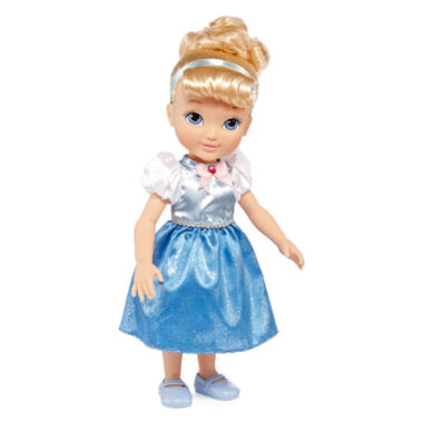 Win a Disney Collection Cinderella Toddler Doll  at http://www.thestatenislandfamily.com A magical Cinderella toddler doll is ready to play with your little princess and keep her company for years to come