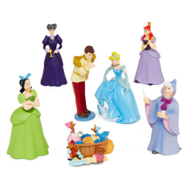 Win a Disney Collection Cinderella Figure Play Set  at http://www.thestatenislandfamily.com She'll have hours of fun recreating scenes from her favorite movie with these colorful Cinderella figurines