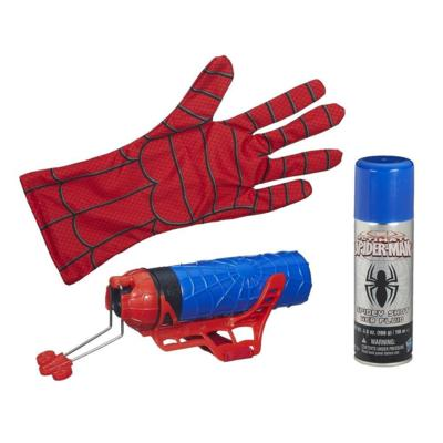 Win a Marvel Ultimate Spider-Man Web Warriors Spider-Man Color Shock Slinger  Imagine Spider-Man adventures at a whole new level with this incredible Color Shock Slinger! You'll be able to fire web fluid or water just like your favorite web-crawling hero when you pull on the glove and attach the Slinger to it. Win one at http://www.thestatenislandfamily.com