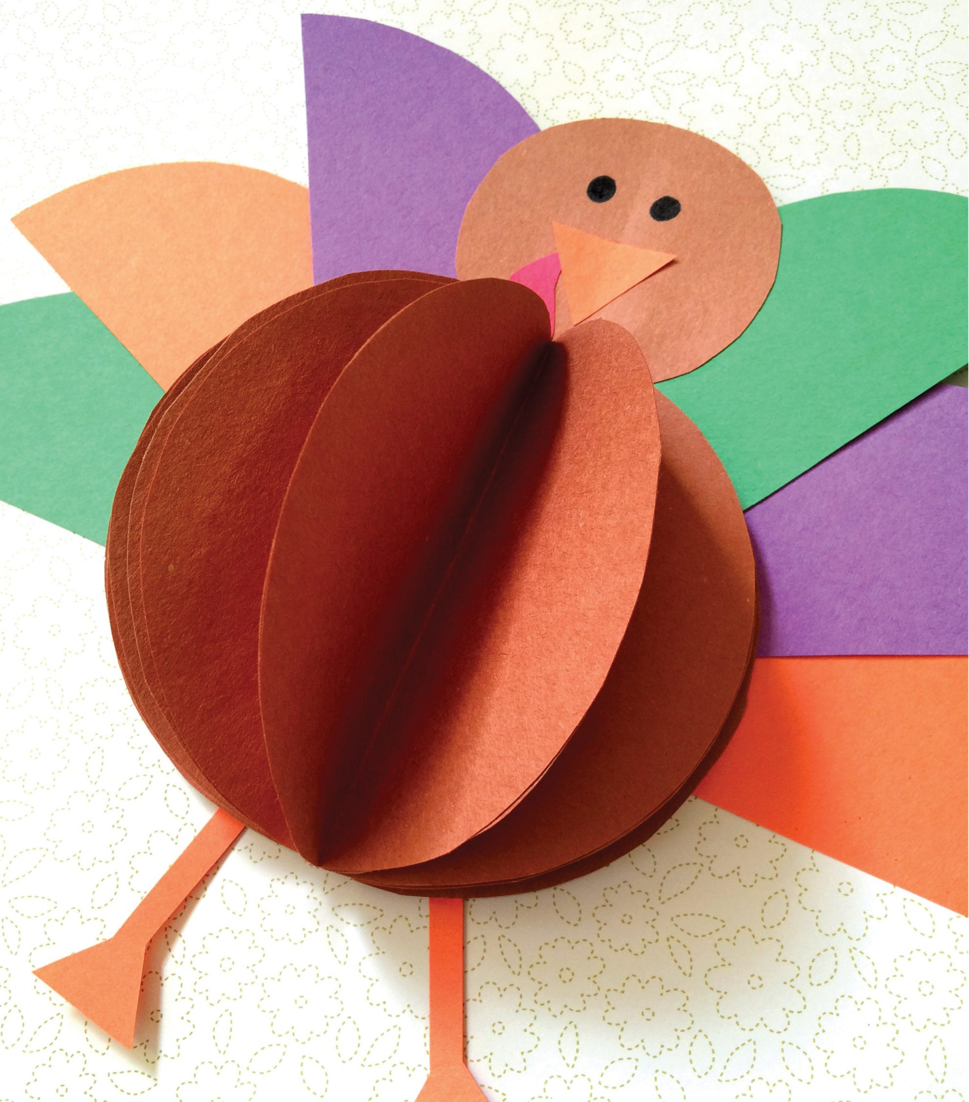 How to Make a Pop-out Turkey