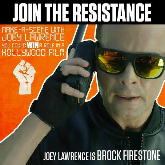 "This Halloween instead of playing dress-up, Memorex in partnership with the creators of SHARKNADO invite consumers to ""make-a-scene"" with actor Joey Lawrence for a once-in-a-lifetime chance to break into Hollywood."