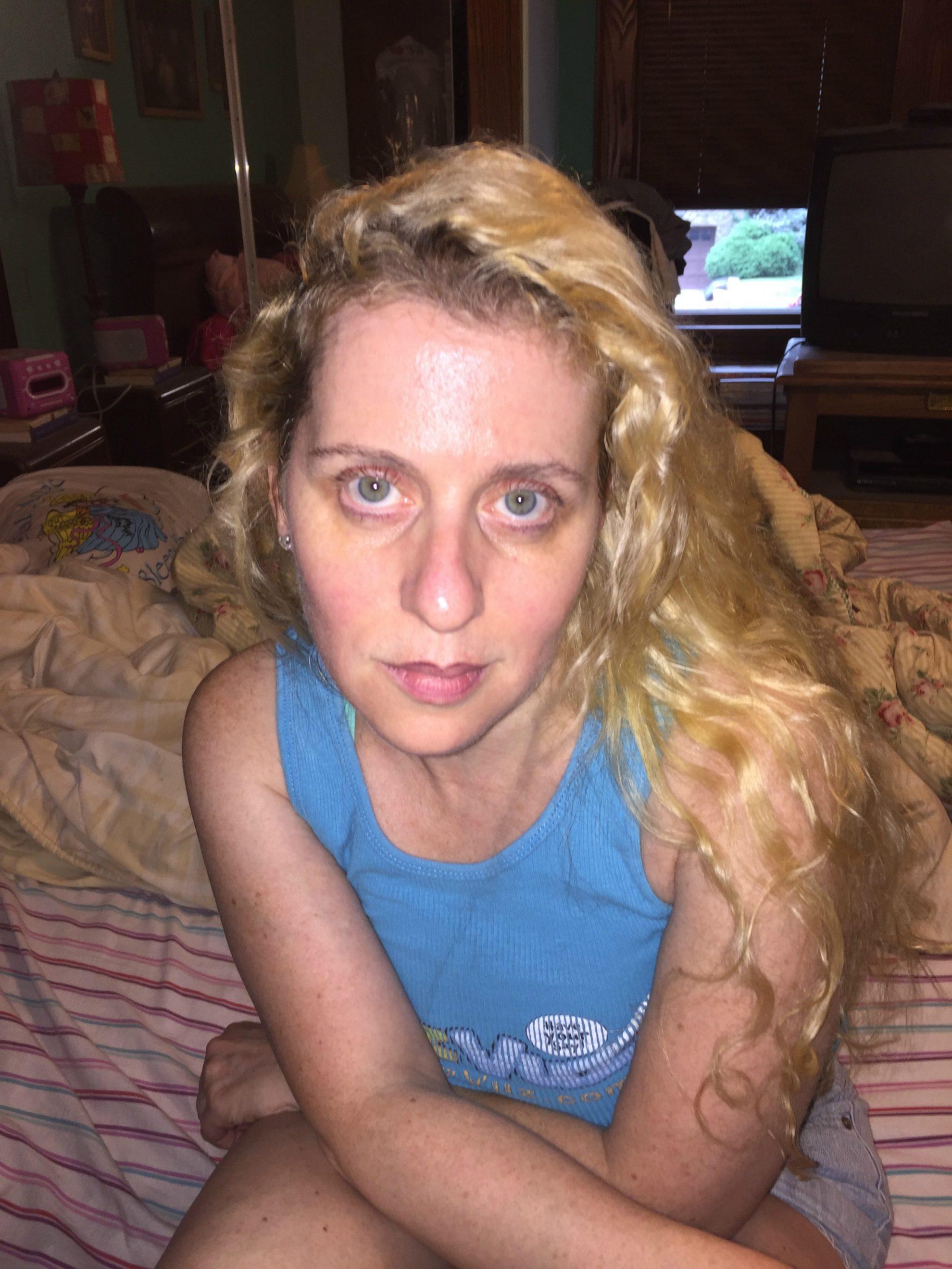 Day four of my 4 Neutrogena Rapid Wrinkle Repair photo diary