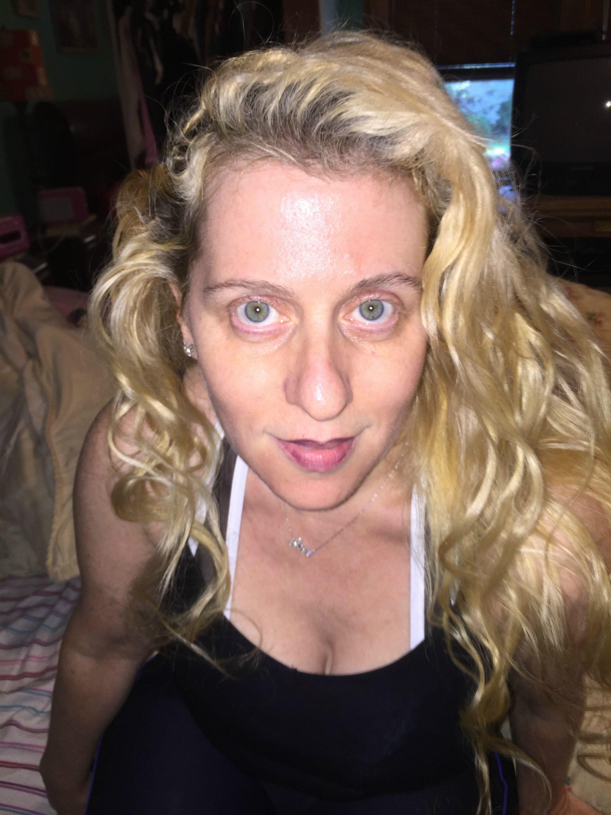 Day three of my Neutrogena Rapid Wrinkle Repair photo diary