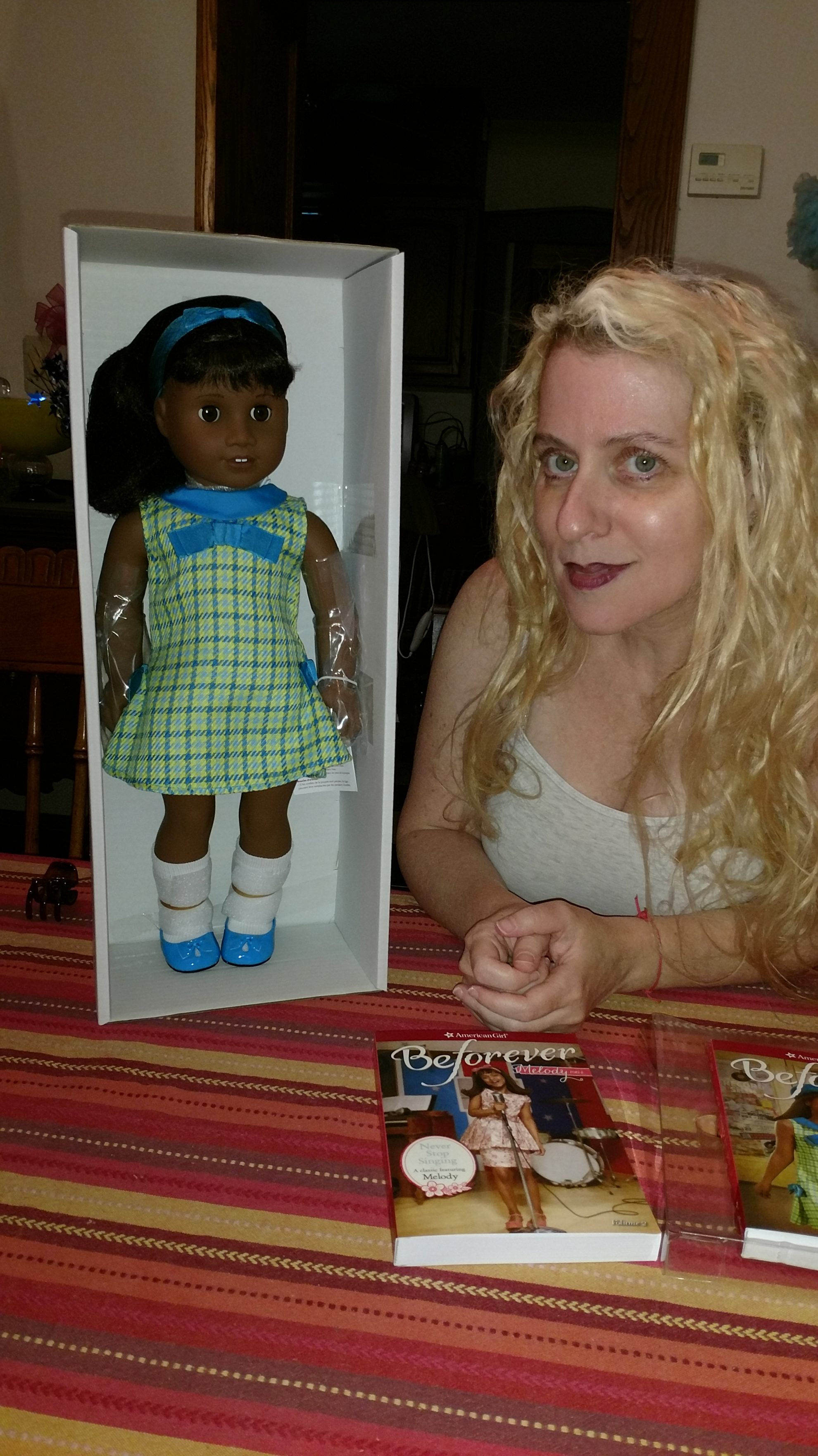 Meet and Win the newest American Girl Doll Melody Ellison