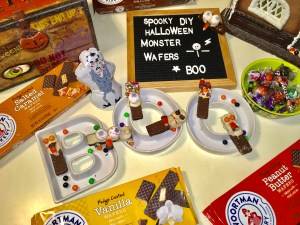 DIY Halloween Monster Wafers ANYONE can make!