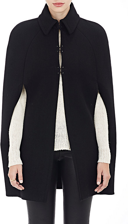 And this Barneys New York Women's Cape Coat is EVERYTHING