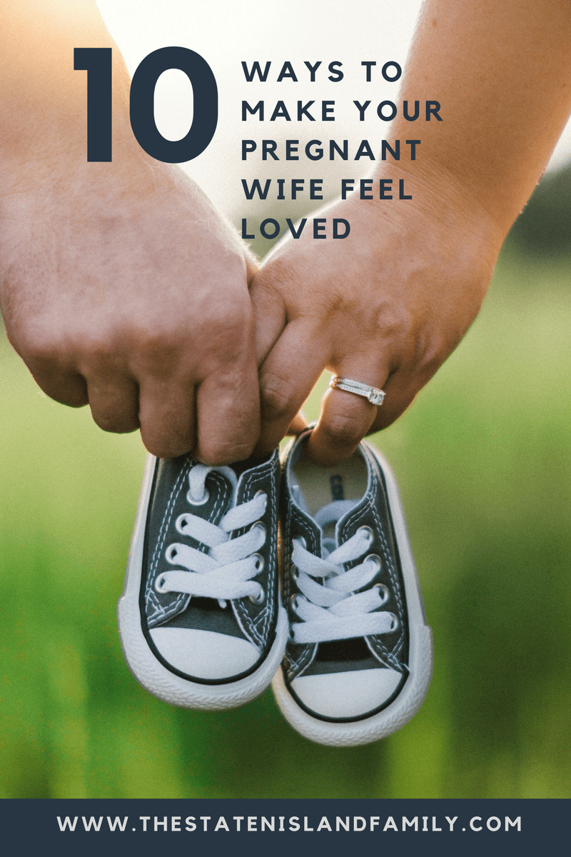 10 Ways to make your pregnant wife feel loved