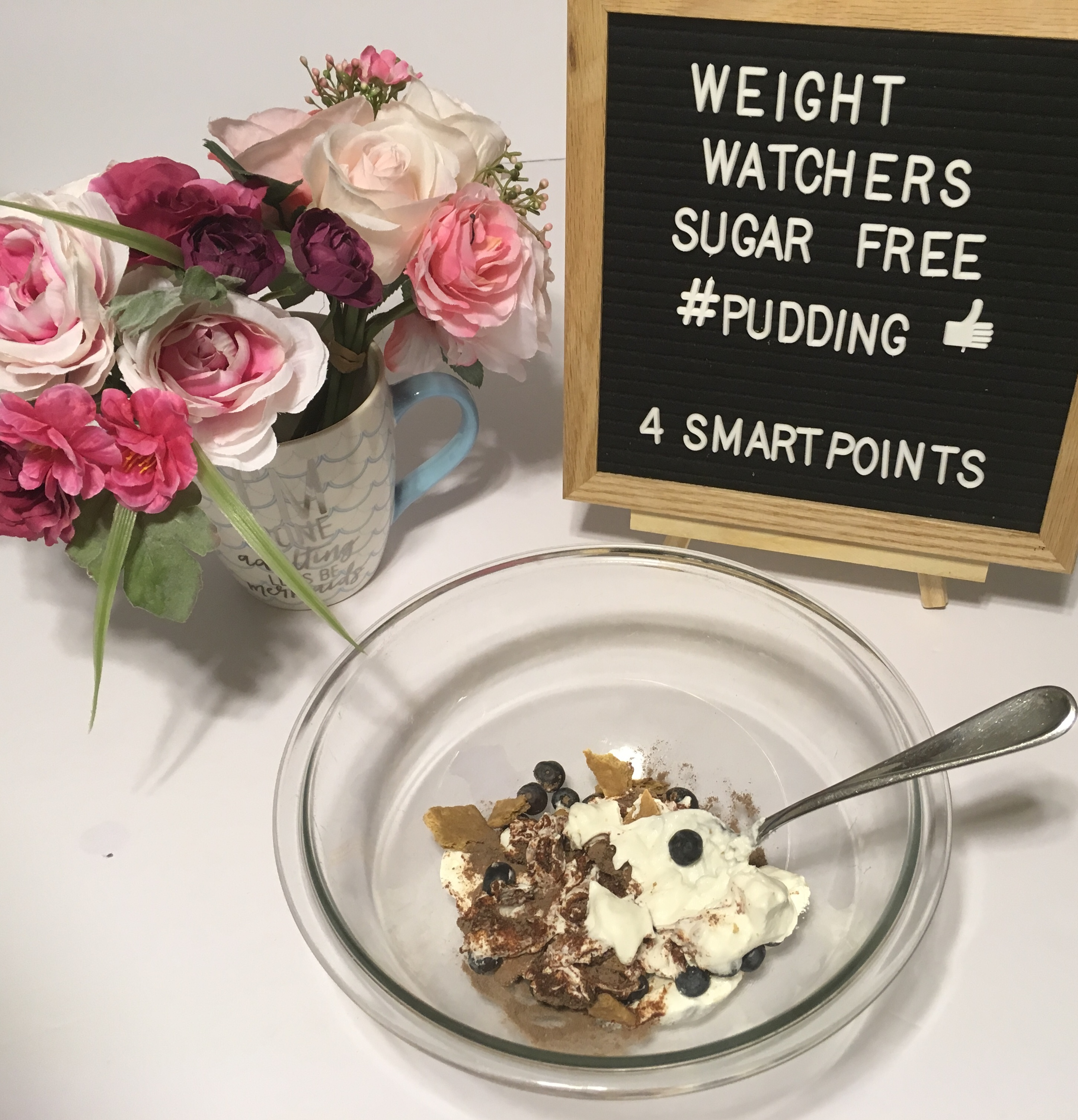 Weight Watchers Sugar Free Pudding Recipe- Just 4 SmartPoints per serving