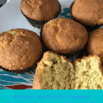 Weight Watchers Banana Chocolate Chip Muffin Recipe- Just 4 Smart Points per muffin!